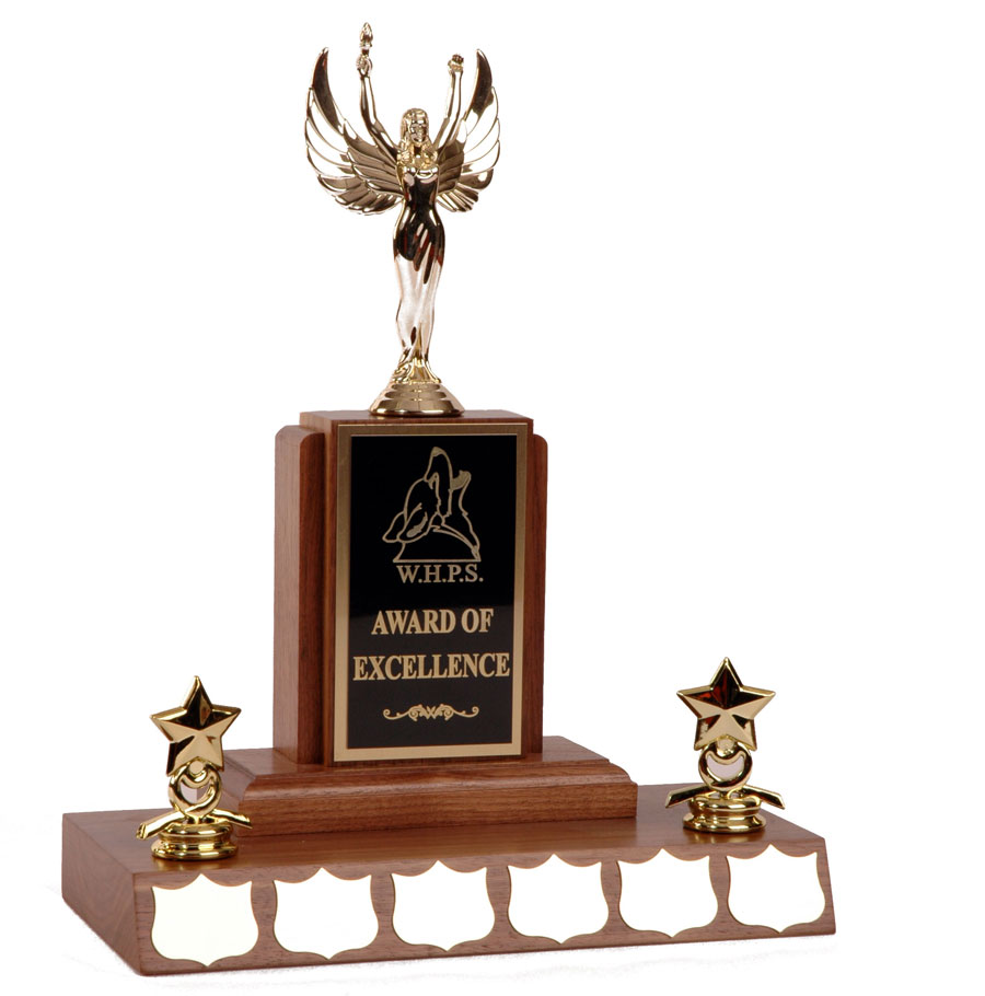 Walnut Trophies - Large